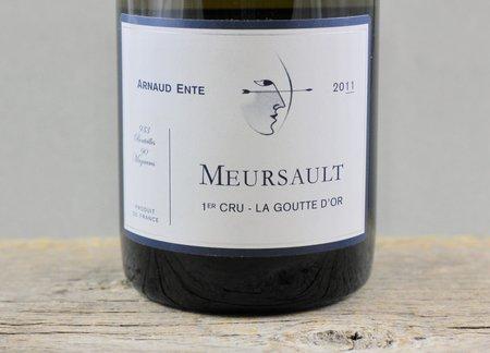 Arnaud Ente La Goutte d'Or Meursault 1er Cru Chardonnay 2011