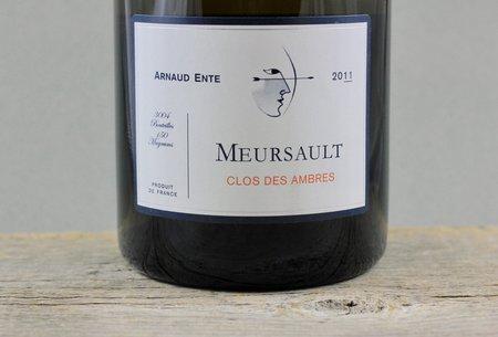 Arnaud Ente Clos des Ambres Meursault Chardonnay 2011 (1500ml)