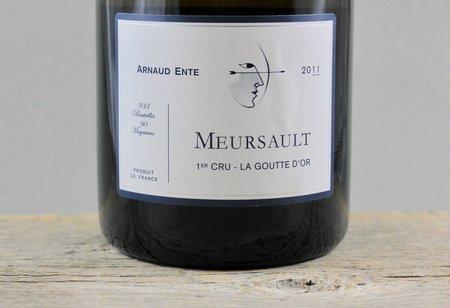 Arnaud Ente La Goutte d'Or Meursault 1er Cru Chardonnay 2011 (1500ml)