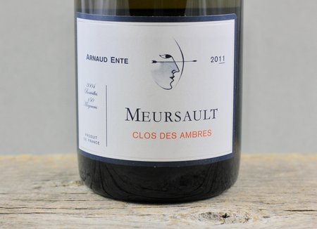 Arnaud Ente Clos des Ambres Meursault Chardonnay 2011