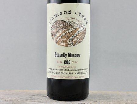 Diamond Creek Vineyards Gravelly Meadow Cabernet Sauvignon 1986