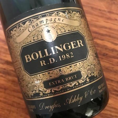 Bollinger R.D. Extra Brut Champagne Blend 1982