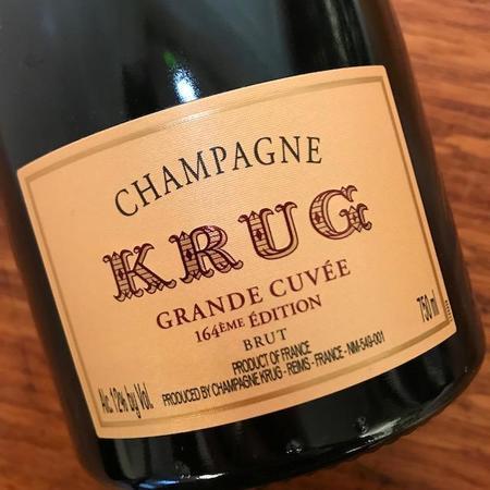 Krug Grande Cuveé 164ÈME Édition Brut Champagne Blend NV