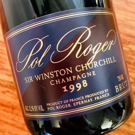 Pol Roger Sir Winston Churchill Brut Champagne Chardonnay 1998