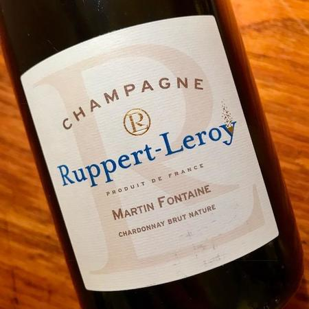 Ruppert-Leroy Martin Fontaine Brut Nature Champagne Chardonnay 2013