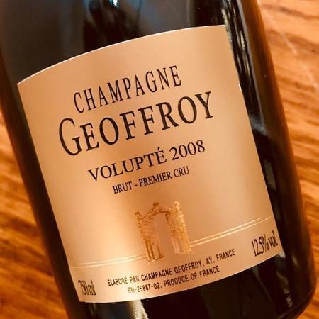 René Geoffroy Volupté 1er Cru Brut Champagne  2008