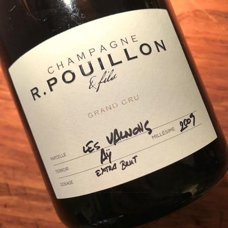 R. Pouillon & Fils Les Valnons Extra Brut Grand Cru Champagne Blend 2009