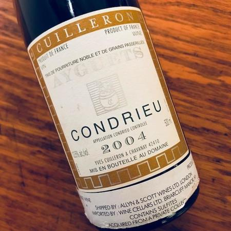 Yves Cuilleron Ayguets Condrieu Viognier 2004 (500ml)