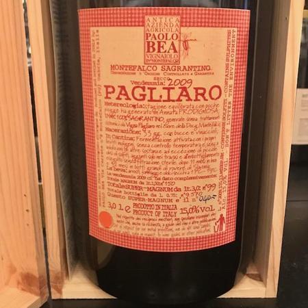 Paolo Bea Pagliaro Secco Montefalco Sagrantino 2009 (3000ml)