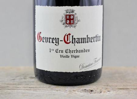 Domaine Fourrier Cherbaudes Vieille Vigne Gevrey-Chambertin 1er Cru Pinot Noir 2008