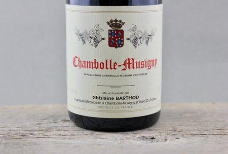 Domaine Ghislaine Barthod Chambolle-Musigny Pinot Noir 2010