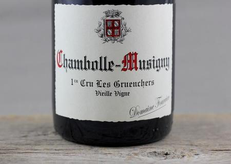 Domaine Fourrier Les Gruenchers Vieille Vigne Chambolle-Musigny 1er Cru Pinot Noir 2010