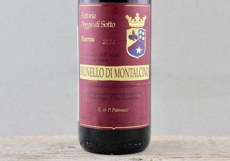 Fattoria Poggio di Sotto Riserva Brunello di Montalcino Sangiovese 2004