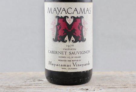 Mayacamas Vineyards California Cabernet Sauvignon 1976