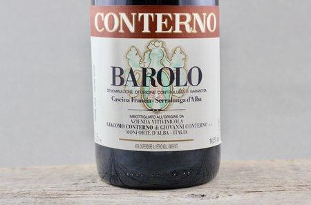 Giacomo Conterno Cascina Francia Barolo Nebbiolo 2001 (1500ml)