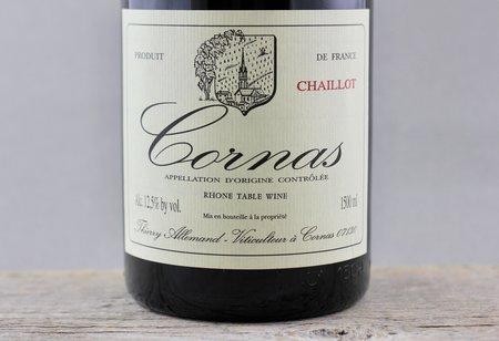 Thierry Allemand Chaillot Cornas Syrah 1999 (1500ml)