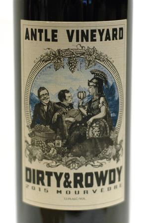 Dirty & Rowdy Antle Vineyard Mourvedre 2015