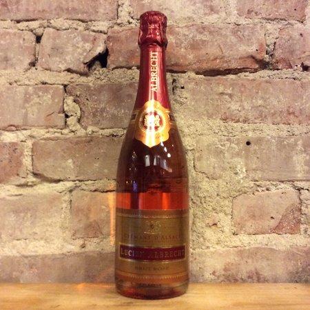 Lucien Albrecht Crémant d'Alsace Brut Pinot Noir Rosé  NV