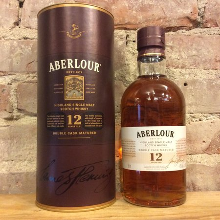 Aberlour 12 Year Old Pure Highland Single Malt Scotch Whiskey NV