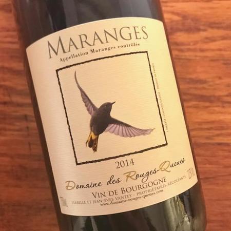 Domaine des Rouges-Queues Vin de Bourgogne Maranges Blanc 2014