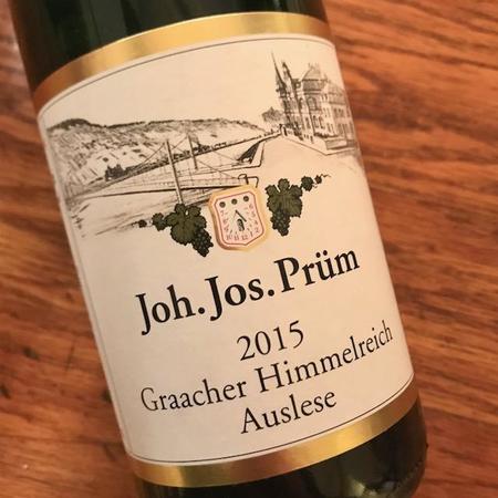 Joh. Jos. Prüm Graacher Himmelreich Eiswein Riesling 2015