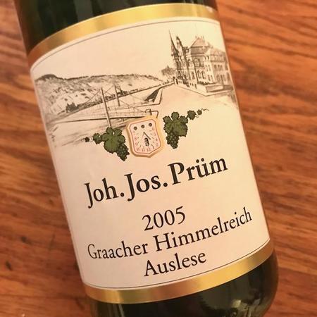 Joh. Jos. Prüm Graacher Himmelreich Eiswein Riesling 2005