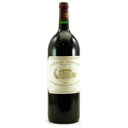 Château Margaux Margaux Premier Grand Cru Classé Red Bordeaux Blend 1996 (1500ml)
