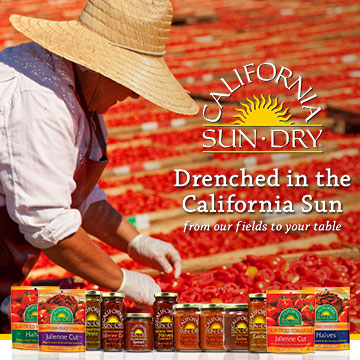 California Sun Dry sun-dried tomatoes - From our fields to your table