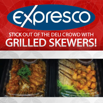 Stick out of the Deli Crowd with Grilled Skewers