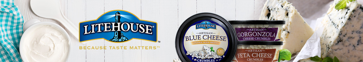 Litehouse Artisan Cheese Crumbles - Because Taste Matters