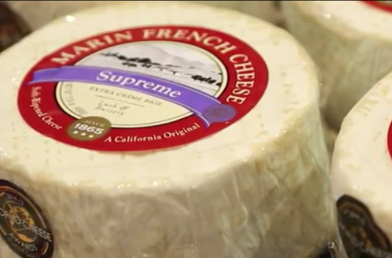 Marin French Cheese's Quadruple Creme Supreme