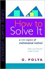 "The ""How to Solve it"" book cover"