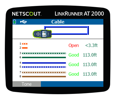 netscout linkrunner at 2000 manual