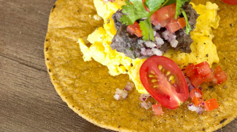 Fit + Fab Challenge Recipe: Breakfast Tostada