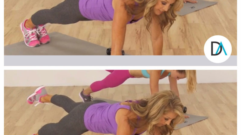 Day 5 of My 10-Day Plank Challenge: The High Plank with Leg Lifts