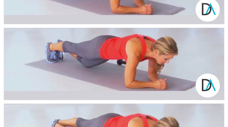 Day 7 of my 10-Day Plank Challenge:  Kiss That Belly Fat Goodbye!