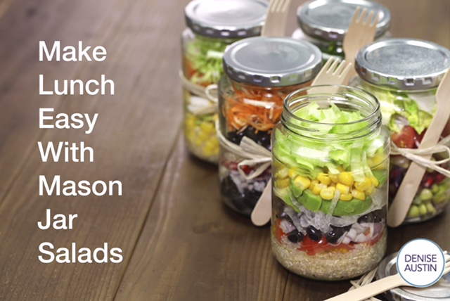 Try A Mason Jar Salad!