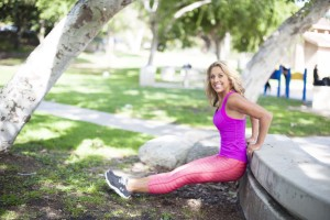 Playground Workout Exercises | Park Bench Fitness | Denise Austin