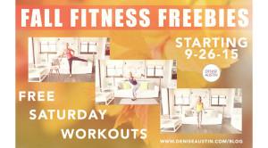 Fall Fitness Freebies Promo - Denise Austin