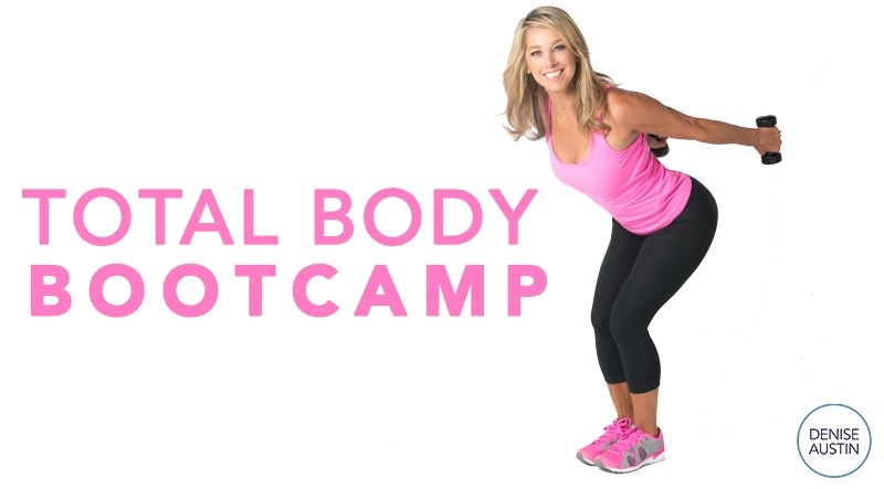 Join Me Tomorrow at 9AM EDT For My FREE Total Body Bootcamp Workout!