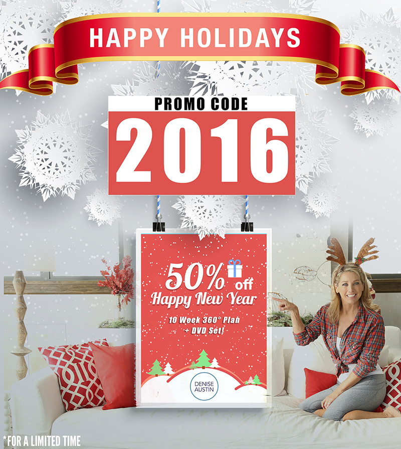 2016 Holiday Discount Denise Austin