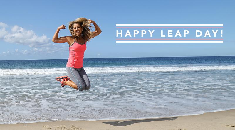 Happy Leap Day Denise Austin
