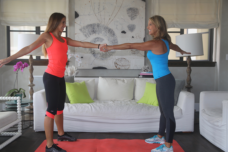 denise austin katie austin mother daughter workout