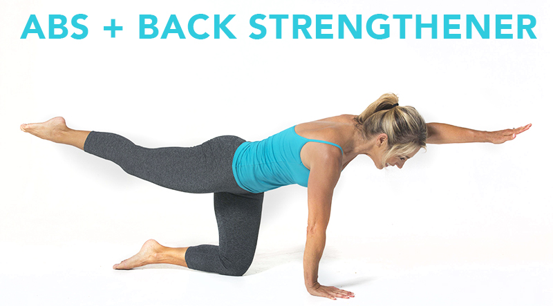The Best Exercises For A Bad Back Back Pain Relief Denise Austin