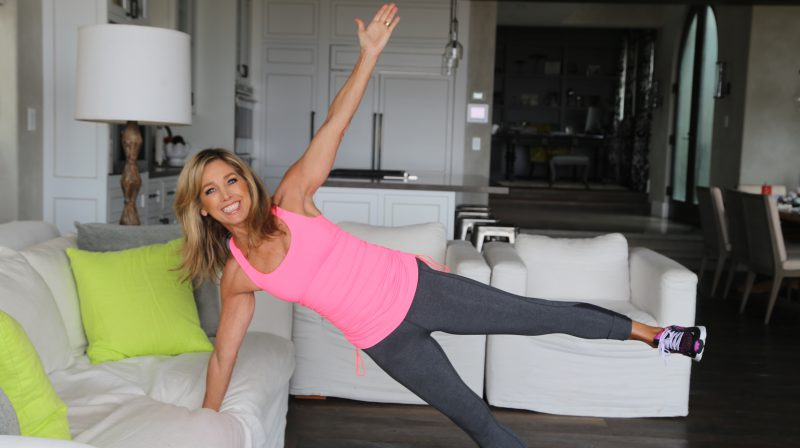 Let's Tone Up With My Natural Body Boot Camp Workout!