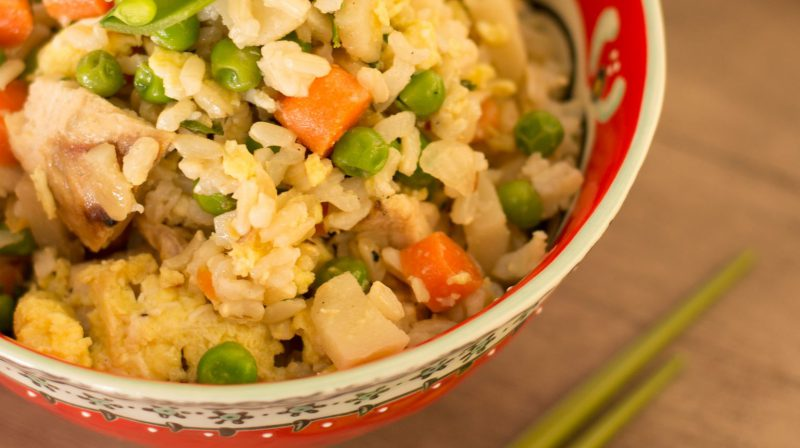 Healthy Take-Out Twist: Chicken No-Fried Rice!