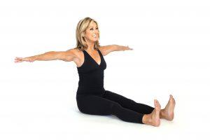 Pilates stretching exercises