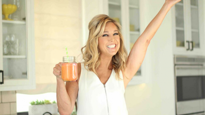 Fit + Fab Challenge: Peach Smoothie
