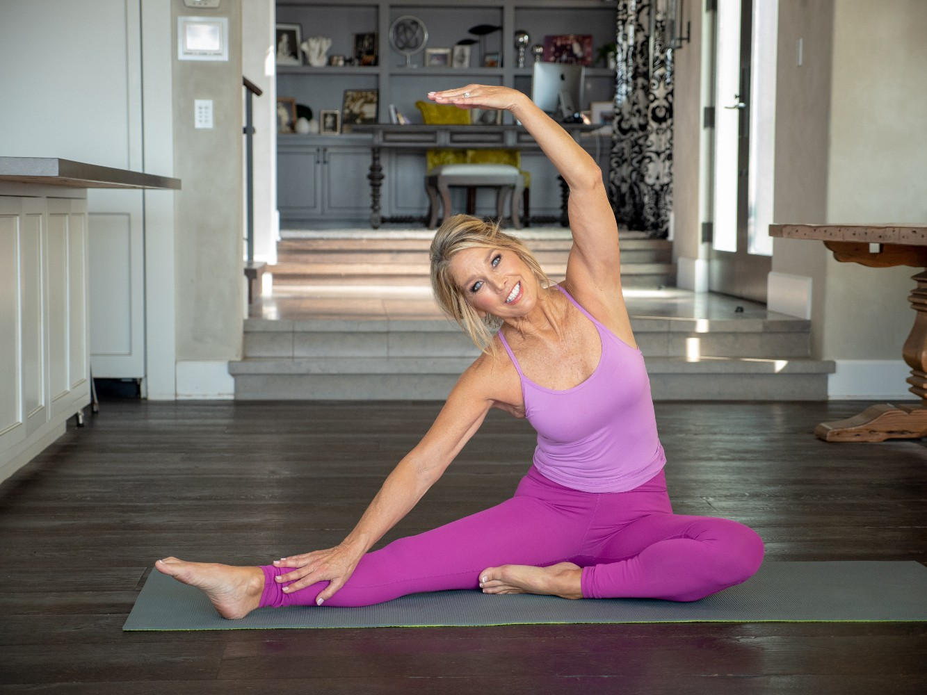 Healthy In A Hurry: PM Stretching Routine