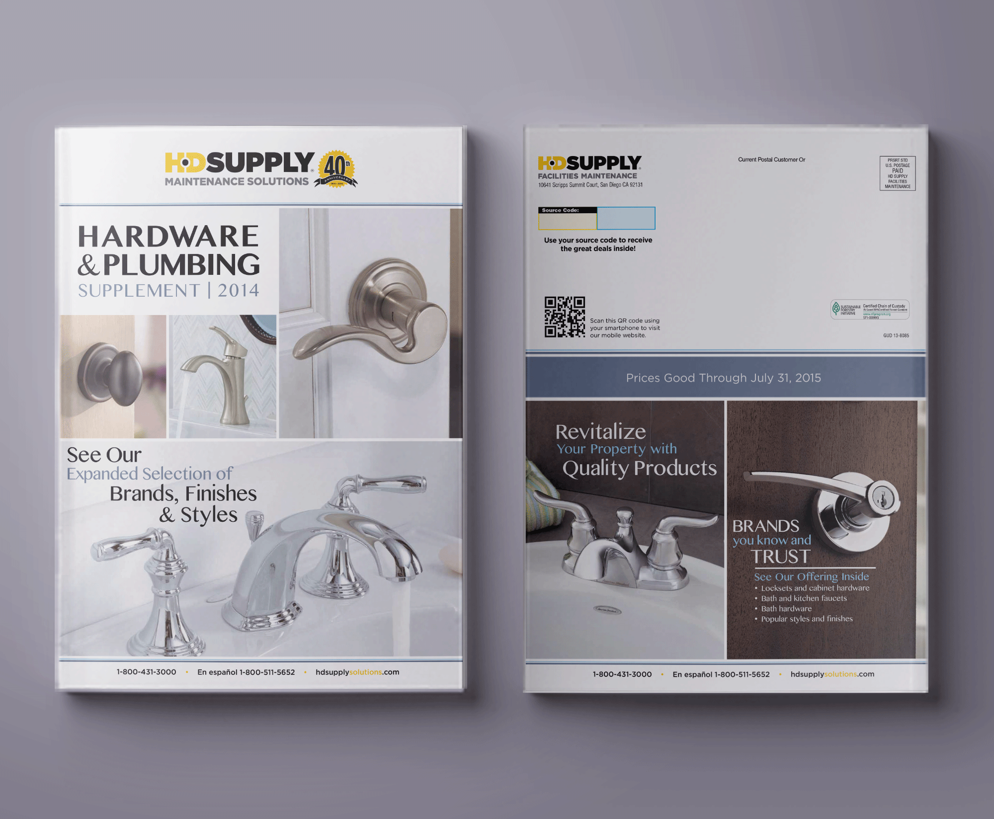 Special Order Plumbing and Hardware Guide Covers